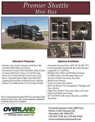 Ford Premier Brochure